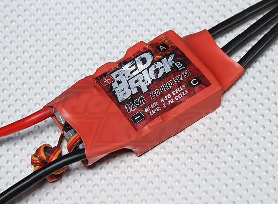 HobbyKing Red Brick 125A ESC