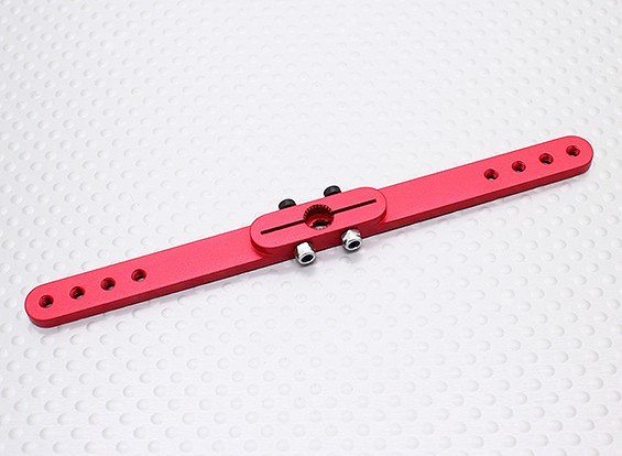 Heavy Duty Alloy 4.5in Pull-Pull Servo Arm - Futaba (Red)