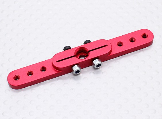 Heavy Duty Alloy 2.5in Pull-Pull Servo Arm - Hitec (Red)