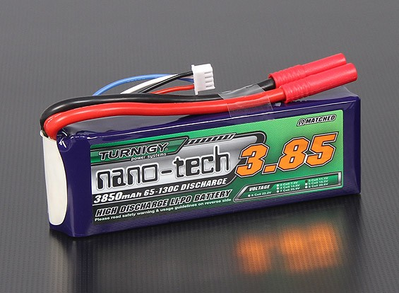 Turnigy nano-tech 3850mah 3S 65~130C Lipo Pack