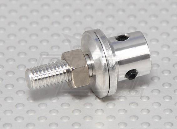 Prop adapter w/ Steel Nut 4mm shaft (Grub Screw Type)