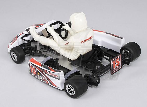 TURNIGY 1:4 Scale Brushless GoKart Alloy Chassis (kit)