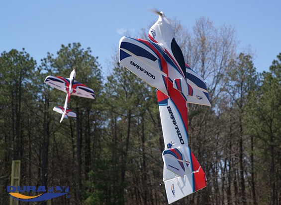 Durafly™ Bravado - Precision 3D Aerobatic Sports Plane 1000mm (PNF)