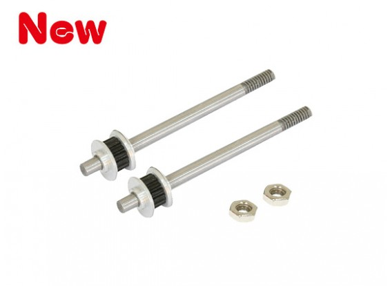 Gaui 100 & 200 CNC Tail Pulley and Output Shaft Assembly(17T for belt version)