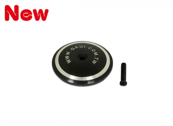 Gaui 100 & 200 CNC Stop Plate for 100~400 class(Black anodized)