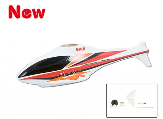 Gaui 100 & 200 TigerShark F3C Scale Body(GA A) with Conversion Parts