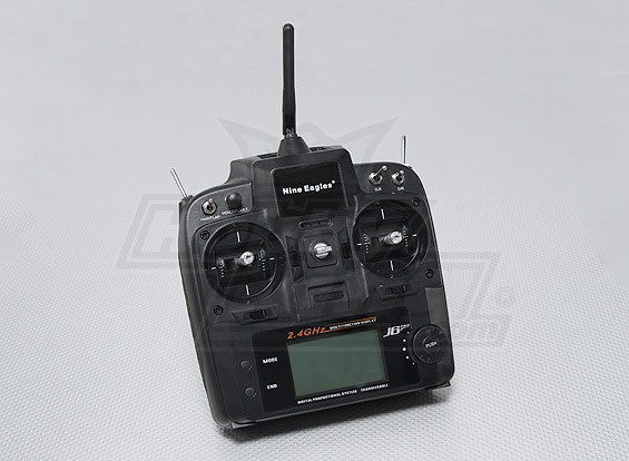 Nine Eagles J6 PRO 6CH 2.4gHz Transmitter (Mode 1/Mode 2)