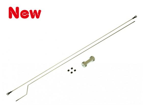 Gaui 425 & 550 2mm Push Rod Set(with Adjuster)