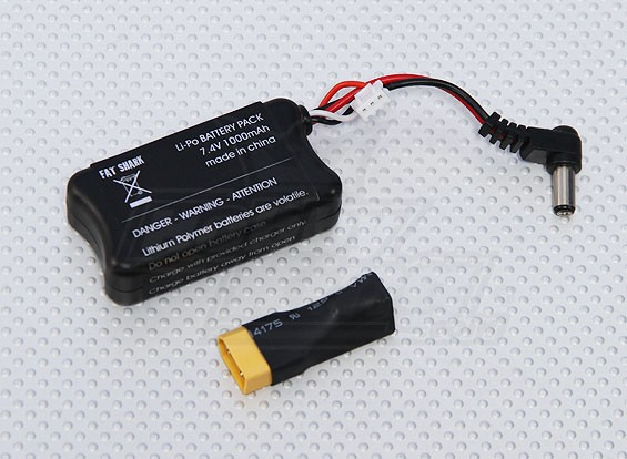 Fatshark FPV - Headset Battery 7.4v 1000mah
