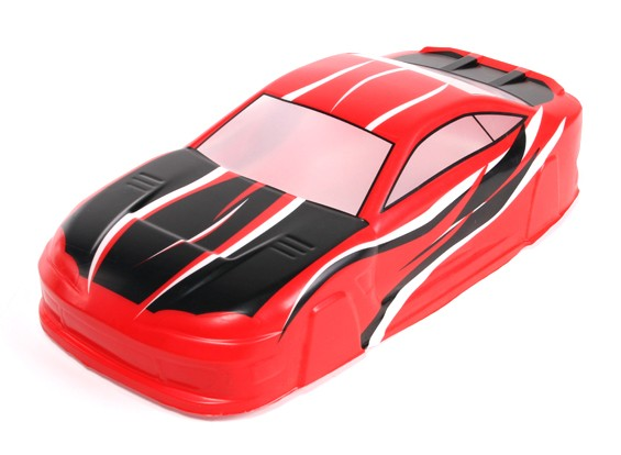 1/10 Touring Car Pre-Painted Body Shell