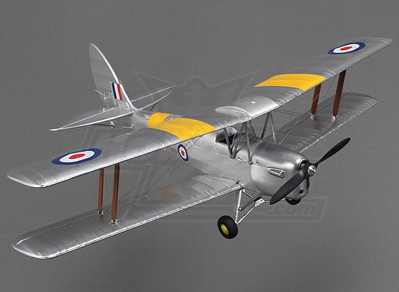Hobbyking Micro Tiger Moth 560mm w/display stand (PNF)