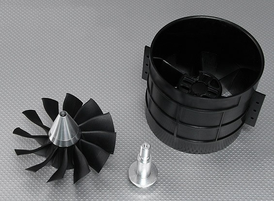 12 Blade High-Performance 120mm EDF Ducted Fan Unit