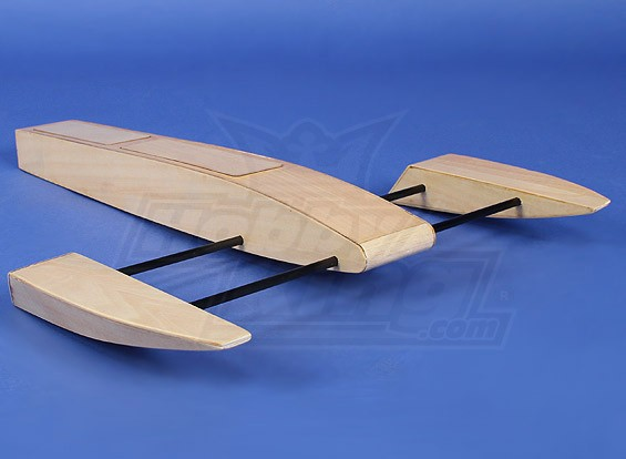Wooden Sponson Race Boat Kit (495mm)