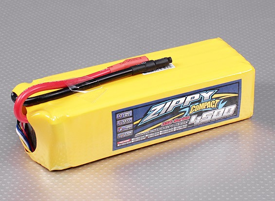 ZIPPY Compact 4500mAh 8S 35C Lipo Pack