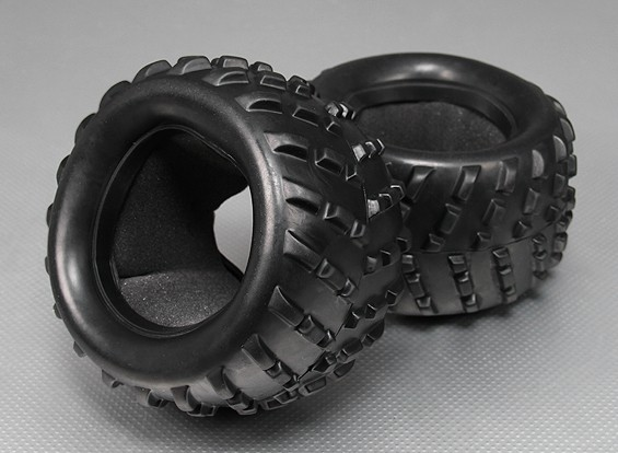 Tire w/Insert - Turnigy Titan 1/5 (2pcs/Bag)
