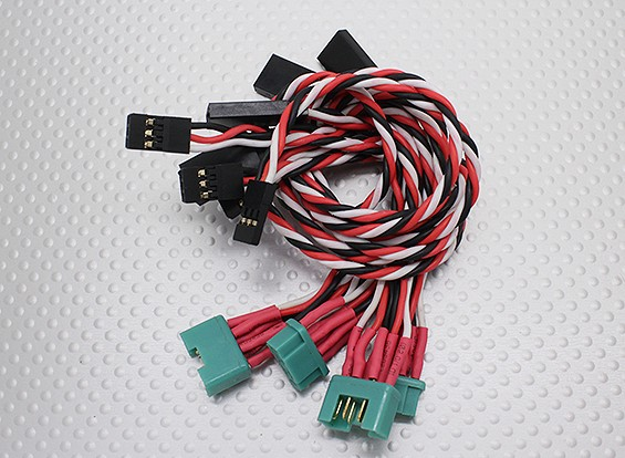 MPX Style Plug-In Wing Wiring harness for Sunbird (Aileron & Flap)