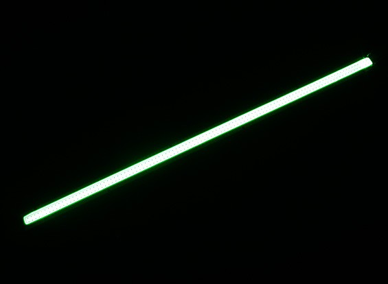 10W Green LED Alloy Strip 250mm x 12mm (3s Compatible)
