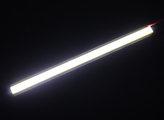 5W White LED Alloy Strip 150mm x 12mm (3s Compatible)