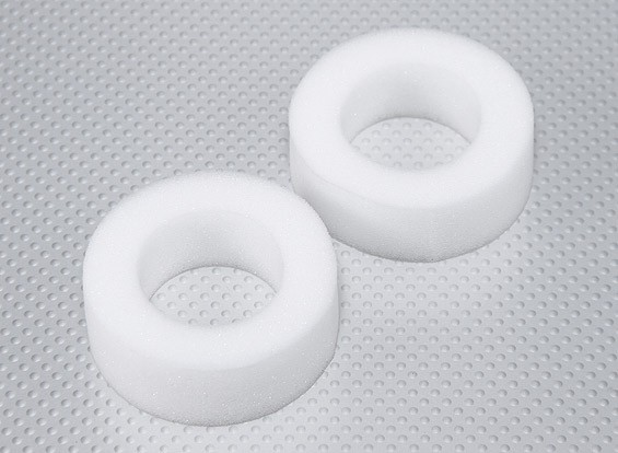 Foam Tire Inserts for 26mm RC Car Wheels - Hard Compound (2pcs)