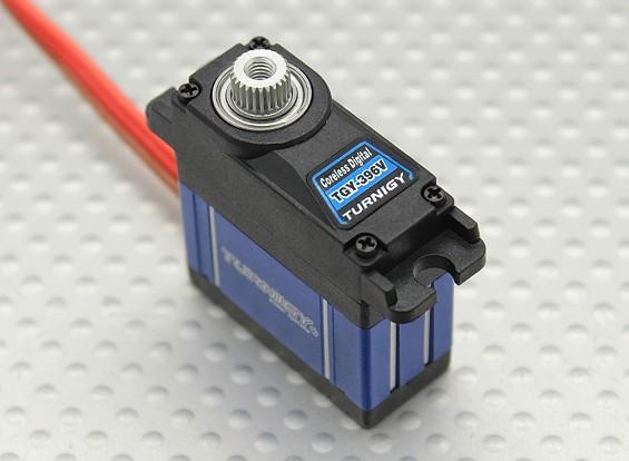 Turnigy™ TGY-396V Coreless HV/DS/MG Servo w/ Heat Sink 2.5kg / .06sec / 22.5g