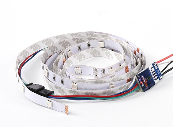 9 Mode Multi Colour/Multi Function LED strip with Control Unit