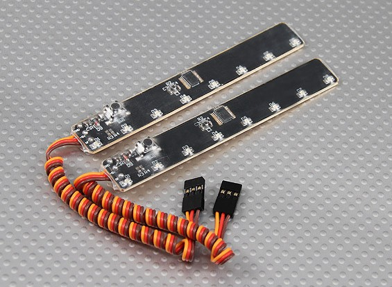 LED Under Body Neon System (White) (2pcs/bag)