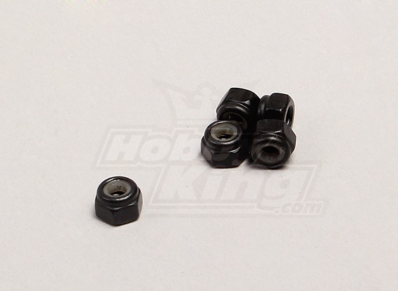 Nylon Nut - 1/18 4WD RTR On-Road Drift/Short Course/Racing Buggy(5pcs)