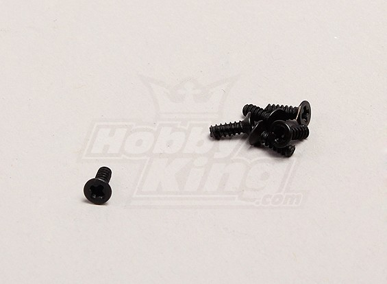 Countersunk Self-Tapping Screws(M2) - 1/18 4WD RTR On-Road Drift/Short Course(6pcs)