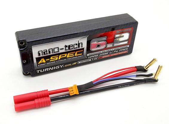 Turnigy nano-tech A-SPEC 6200mah 2S 65~130C Hardcase Lipo Pack