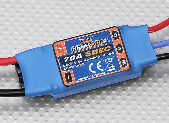 HobbyKing 70A ESC 4A UBEC