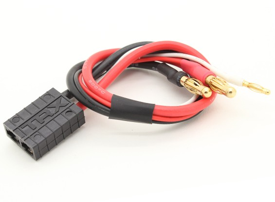 TRX Compatible to 3.5mm Bullet Connectors with JST Balance Lead for 2s Hardcase LiPo Pack