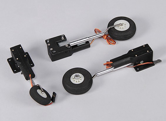 Durafly™ 1000mm Sea Vixen - Replacement Retract Set (1set)