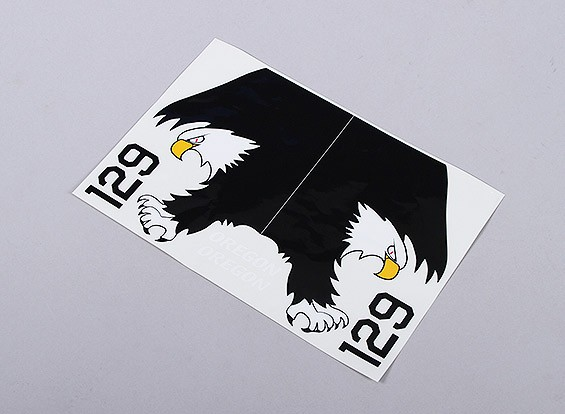 US Navy Eagle left and right handed - Large Scale Self Adhesive