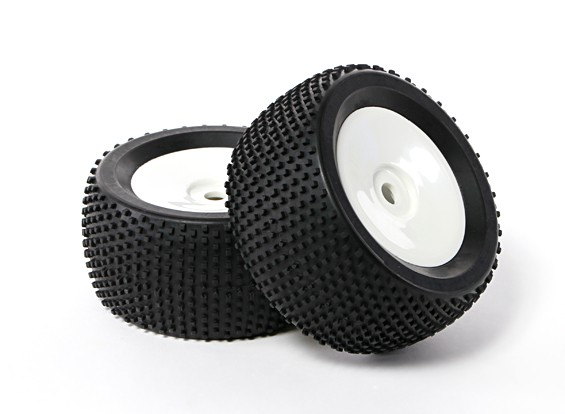 """HobbyKing 1/8 Truggy 3.4"""" Dish Tire Set (1pair)"""