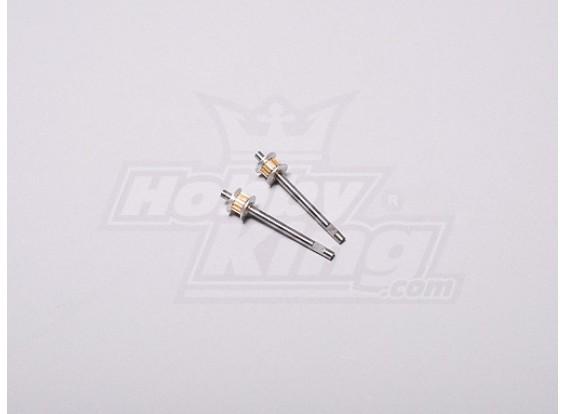 HK-250GT Tail Drive Gear Shaft (2pcs/set)
