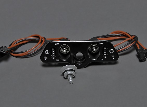 Dual RX/CDI Power Switch with Fuel Filler
