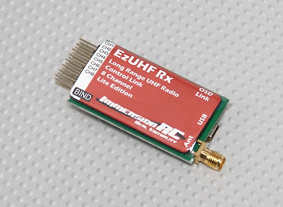 ImmersionRC EzUHF 8-channel Receiver (Lite Edition)