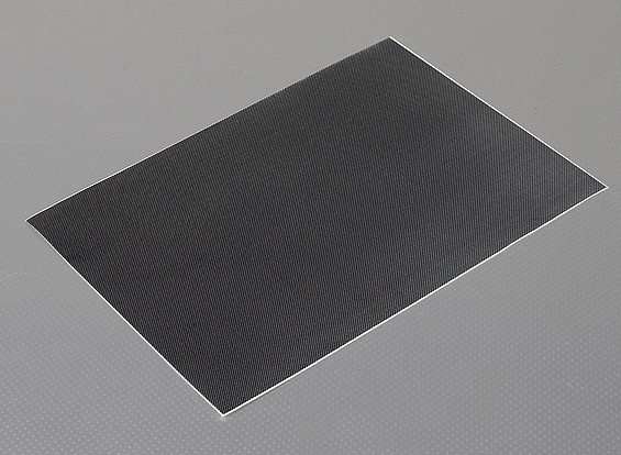 Self Adhesive Decal Sheet - Carbon Fiber Look
