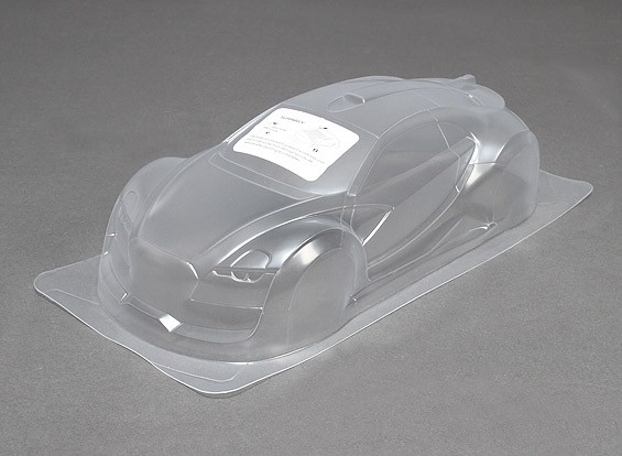 1/10 Survol Unpainted Car Body Shell w/Decals