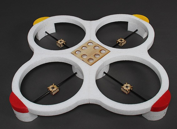 Extra Large EPP Quadcopter Frame 450mm (835mm total width)