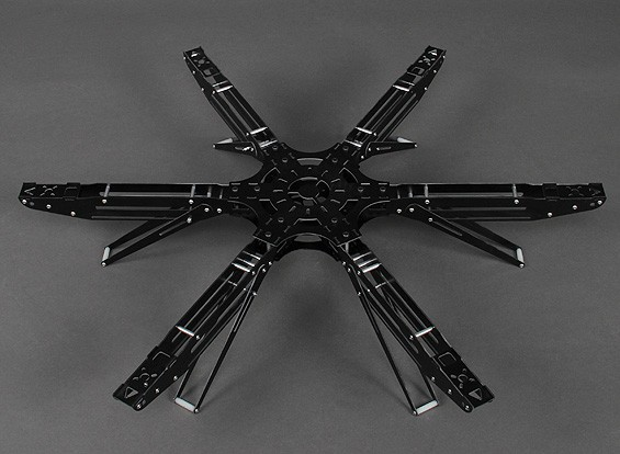 SIX Glass Fiber Hexcopter Frame 600mm