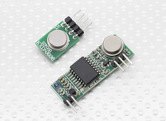 Superheterodyne 3310 Wireless Receiver Module and 433RF Wireless Transmitter Module