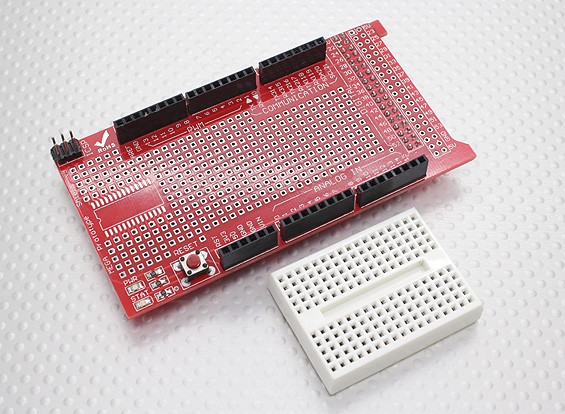 Kingduino MEGA ProtoShield V3 Prototype Development Shield