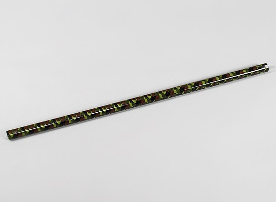 Camouflage Carbon Fiber Tail Boom for Trex/HK600 Helicopter