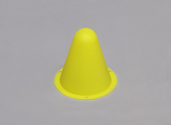 Plastic Racing Cones for R/C Car Track or Drift Course - Yellow (10pcs/bag)