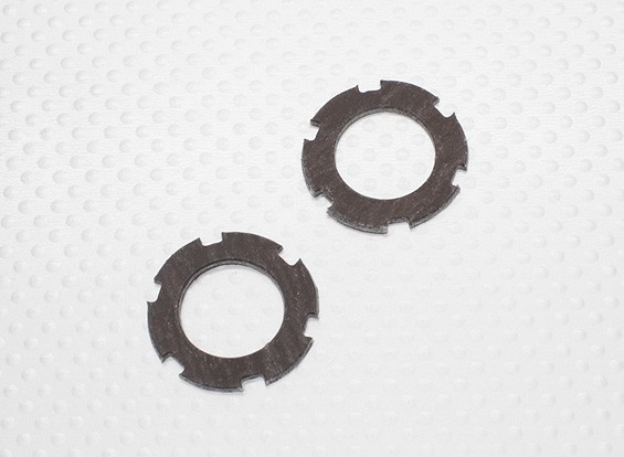 Slipper Clutch Plate Set (2pcs/bag) - 1/10 Quanum Vandal 4WD Racing Buggy / Desert Fox
