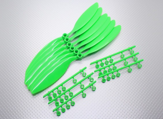 GWS EP Counter Rotating Propeller (RH-9047 228x119mm) Green (6pcs/set)