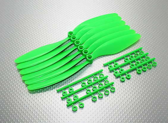 GWS EP Propeller (RD-8043 203x109mm) green (6pcs/set)