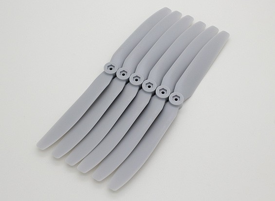 GWS EP Propeller (DD-8040 203x102mm) grey (6pcs/set)
