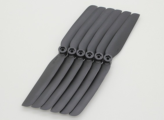 GWS EP Propeller (DD-6030 152x76mm) black (6pcs/set)